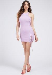 Guess - ALEXA TIE  - Shift dress - hellrose - 1