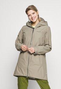 Didriksons - MIRANDA WOMEN'S PARKA - Waterproof jacket - mistel green - 0