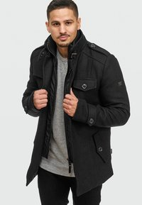 INDICODE JEANS - BRANDAN - Short coat - black - 3