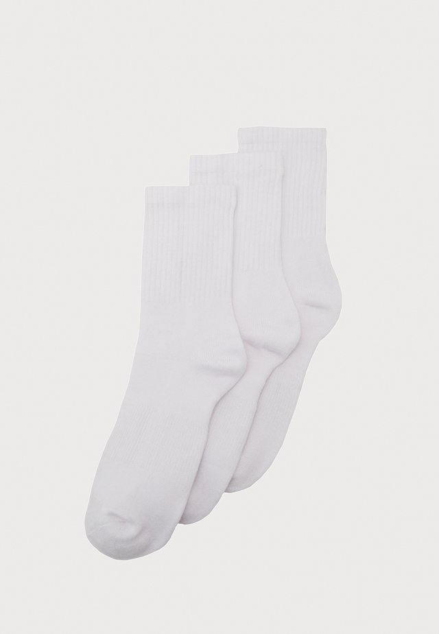 SPORT 3 PACK - Socks - white