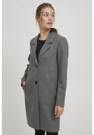 Klasický kabát - medium grey melange