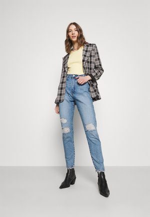 NORA - Straight leg jeans - blue jay ripped