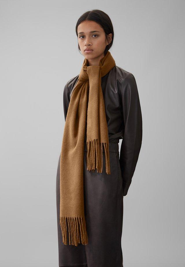 Sjaal - chestnut brown