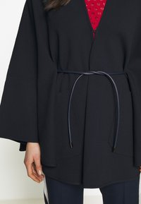 Bally - BELTED CAPE - Poncho - ink - 6