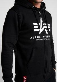 Alpha Industries - Zip-up hoodie - black - 6