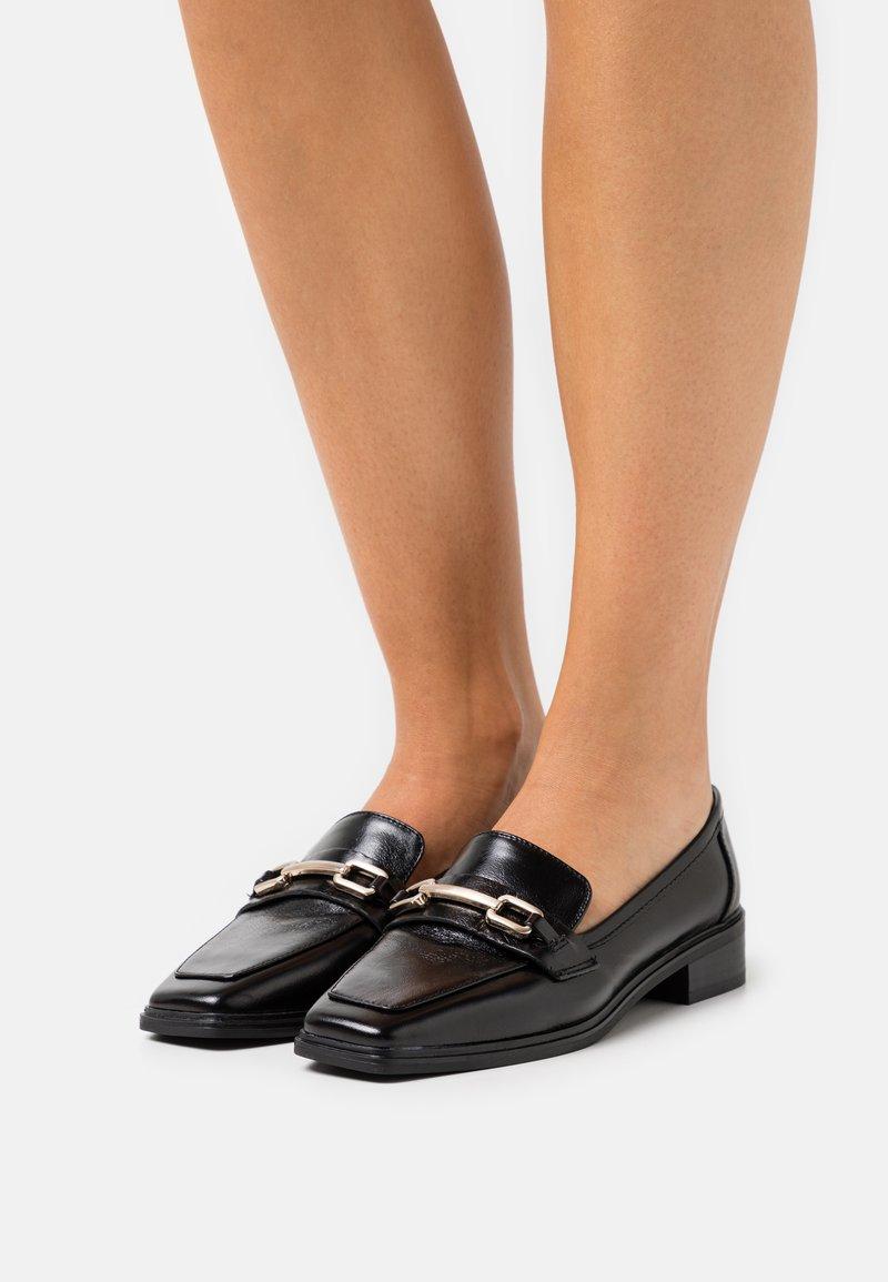 ALDO Wide Fit - WICICLYAFLEX - Slip-ons - black