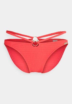 SOLID CRUSH - Bikini bottoms - fiery coral