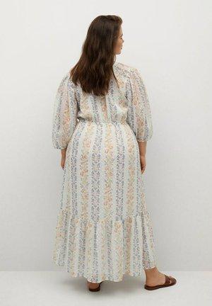 Robe longue - cremeweiß