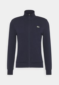 Lacoste - Zip-up hoodie - navy blue - 4