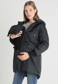 Modern Eternity - FAITH 3-IN-1 THIGH BOMBER PUFFER COAT - Winter coat - black - 4