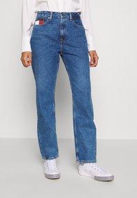 Tommy Jeans - HARPER STRAIGHT - Straight leg jeans - blue denim - 0