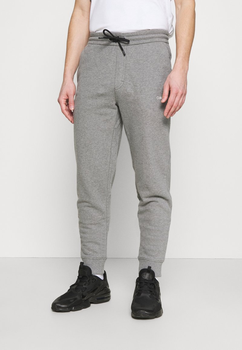 Calvin Klein - SMALL LOGO - Tracksuit bottoms - grey