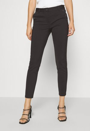 SANSAH ZIPIT - Trousers - black