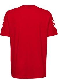Hummel - HMLGO - Print T-shirt - red - 1