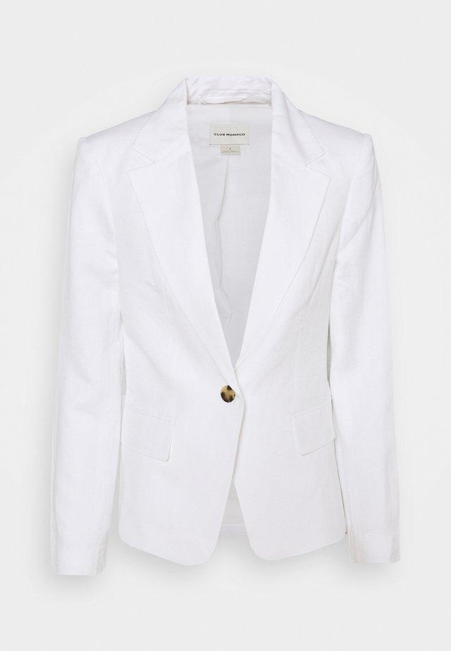 CLASSIC - Blazer - white