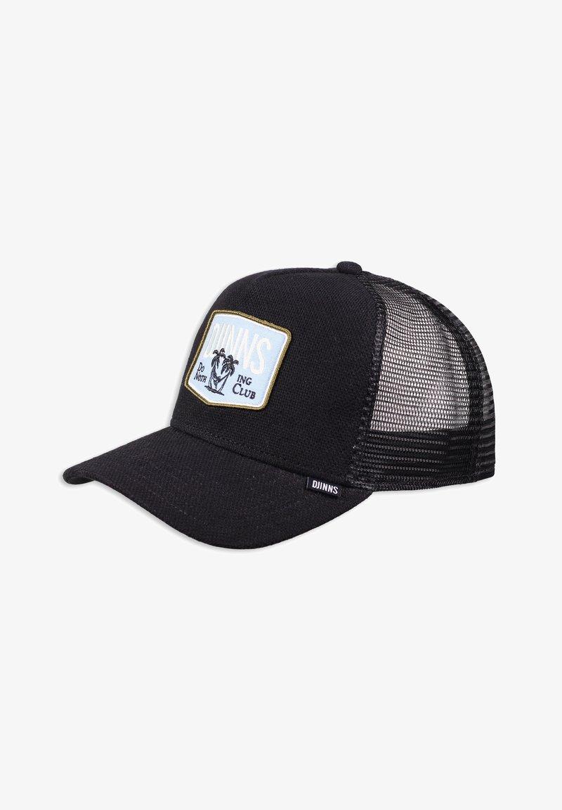 Djinn's - NOTHING CLUB PIQUÉ - Cap - black