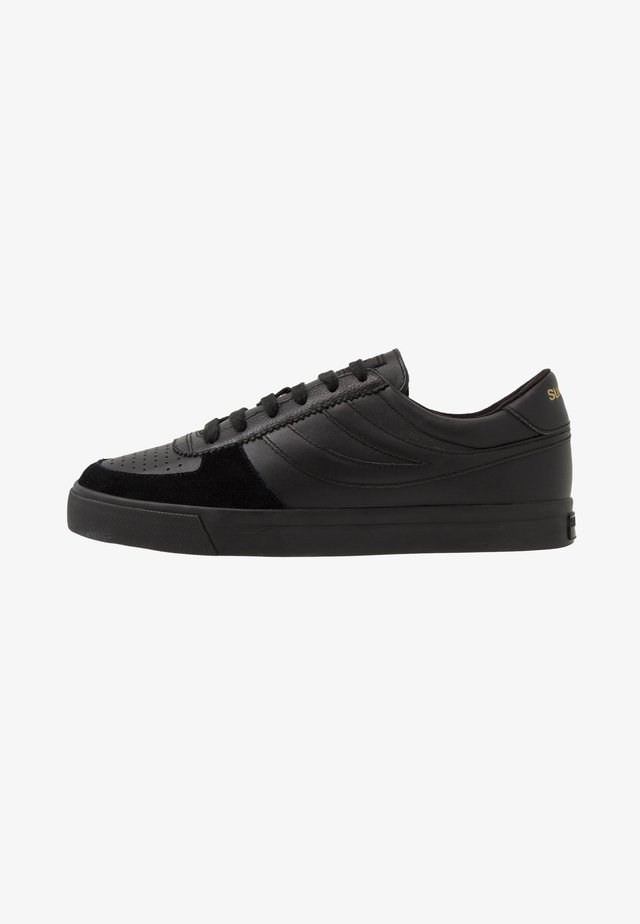 SEATTLE - Sneakers basse - total black