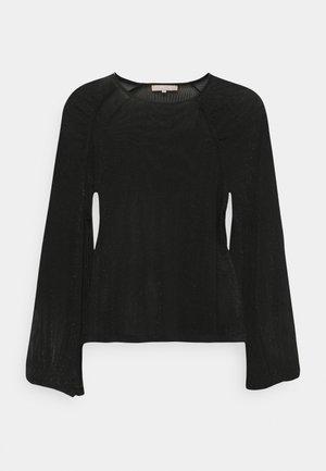 ALBERTINE - Langærmede T-shirts - black