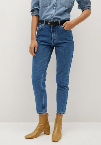 Jeans Tapered Fit - donkerblauw