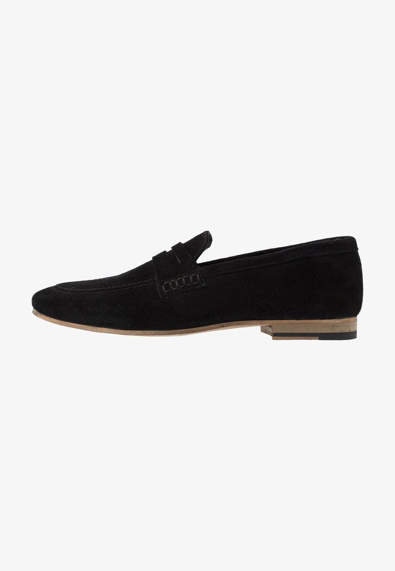 Walk London - DANNY PENNY LOAFER - Scarpe senza lacci - black