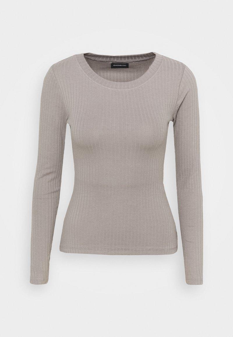 Even&Odd - Long sleeved top - grey