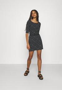 Ragwear - TAMY - Žerzejové šaty - dark grey - 1