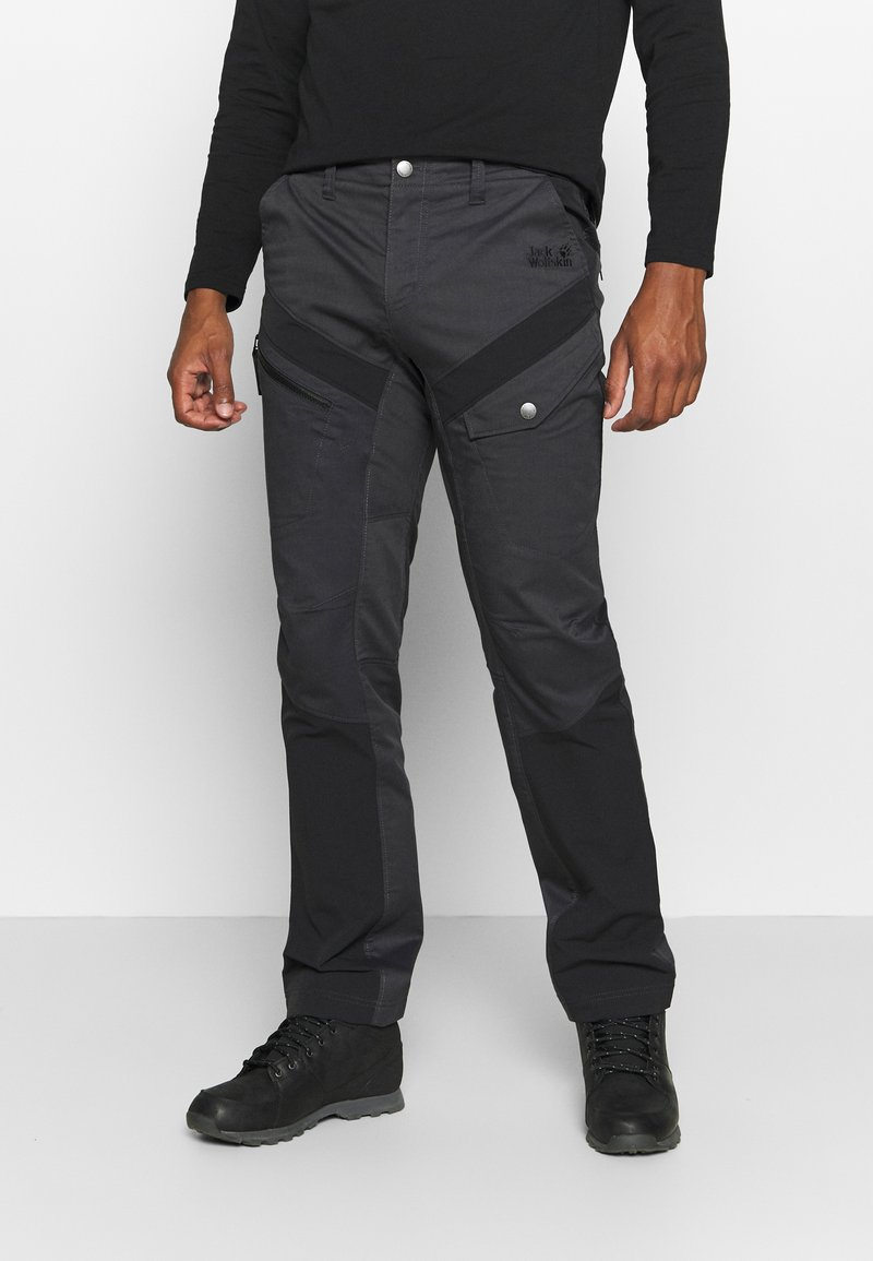 Jack Wolfskin - DOVER ROAD PANTS - Outdoorbroeken - phantom