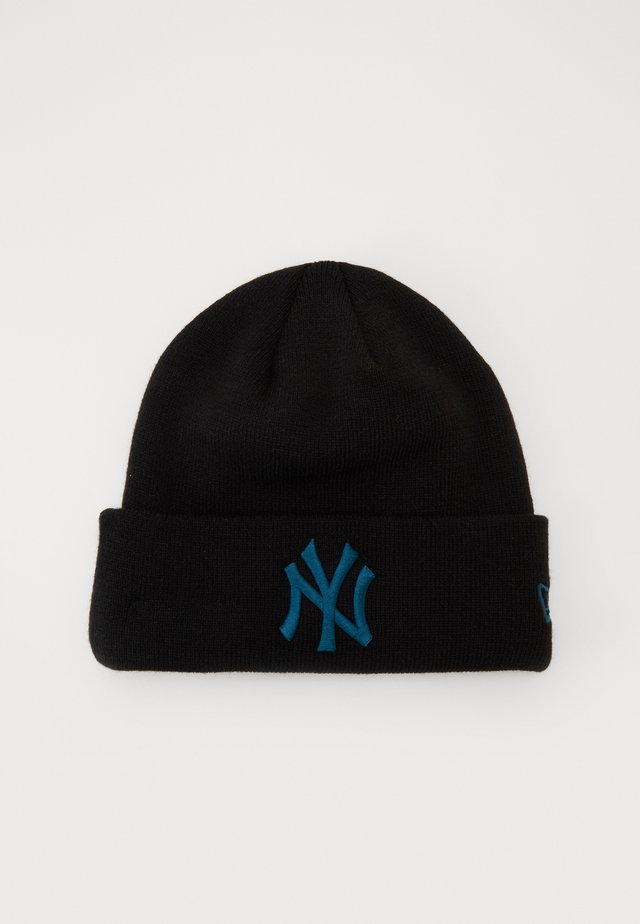 BABY LEAGUE ESSENTIAL CUFF - Gorro - black/blue