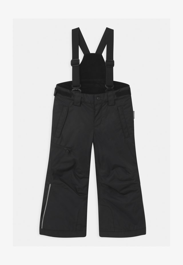 WINTER TERRIE UNISEX - Pantaloni da neve - black