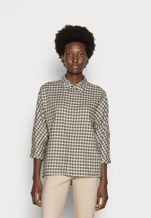 FUDO - Button-down blouse - soft moss