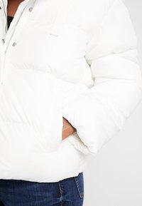 GAP - V-MIDWEIGHT NOVELTY PUFFER - Winter jacket - milk - 5