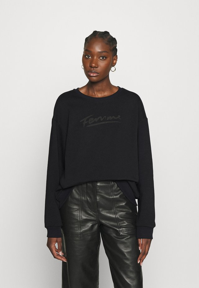 SLFARTISTA CAMILLE  - Sweater - black