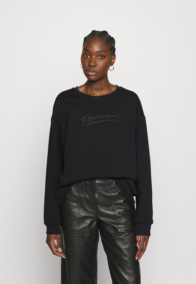 Selected Femme - SLFARTISTA CAMILLE  - Sweatshirt - black