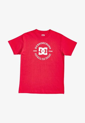 STAR PILOT - Print T-shirt - racing red