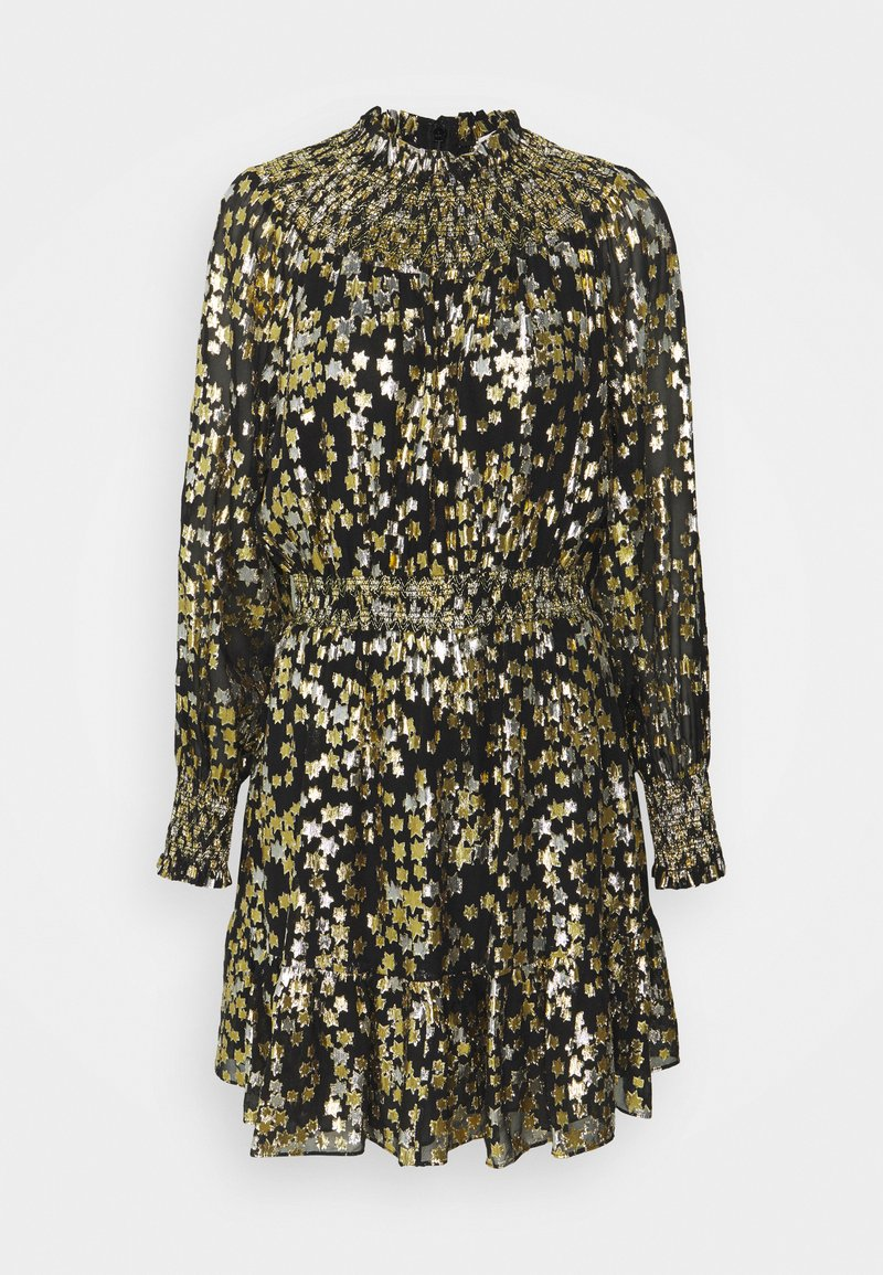 MICHAEL Michael Kors - GLAM TWINKLE STAR  - Vestido de cóctel - silve/gold