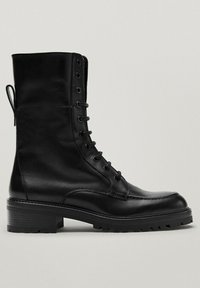 Massimo Dutti - Lace-up ankle boots - black - 3