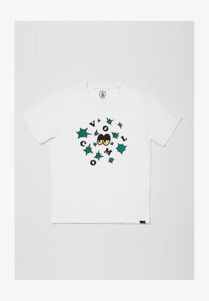 STELLARY HTH SS - Print T-shirt - white