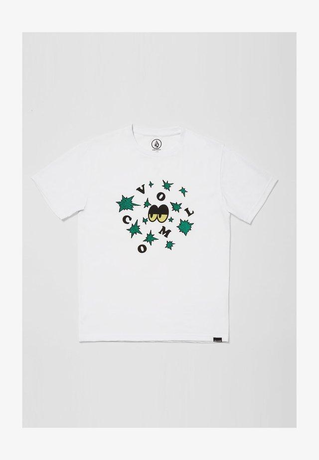 STELLARY - T-shirt print - white