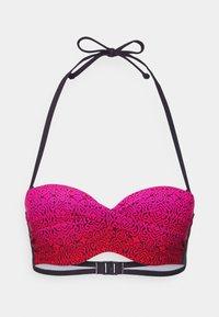 LASCANA - WIRE BANDEAU SET - Bikini - red - 2