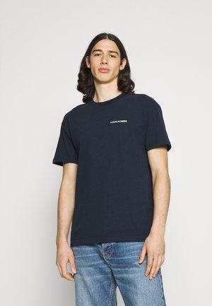 CIRCLE FOIL GRAPHIC - T-shirt imprimé - navy