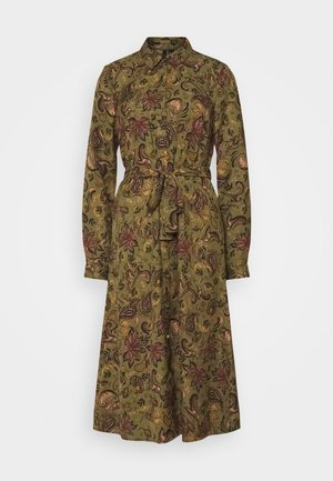 VMLALLIE CALF DRESS  - Blousejurk - kalamata