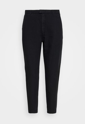 KRISSY EDIT TROUSER - Kangashousut - black
