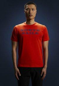 North Sails - T-shirt imprimé - red - 3