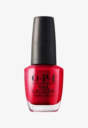NAIL LACQUER - Nail polish - nll 72 opi red