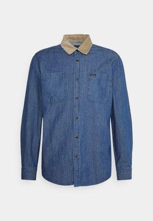 BOWERY - Shirt - washed denim
