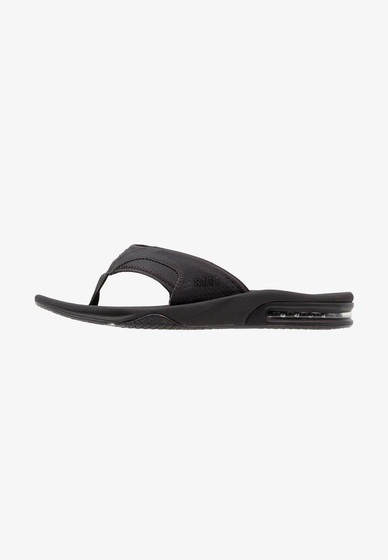 Reef - T-bar sandals - schwarz