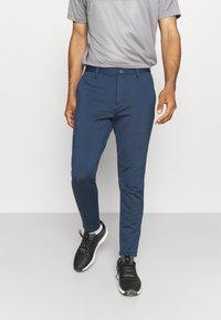 adidas Golf - PRIMEBLUE JOGGER - Pantalones - navy/white - 0