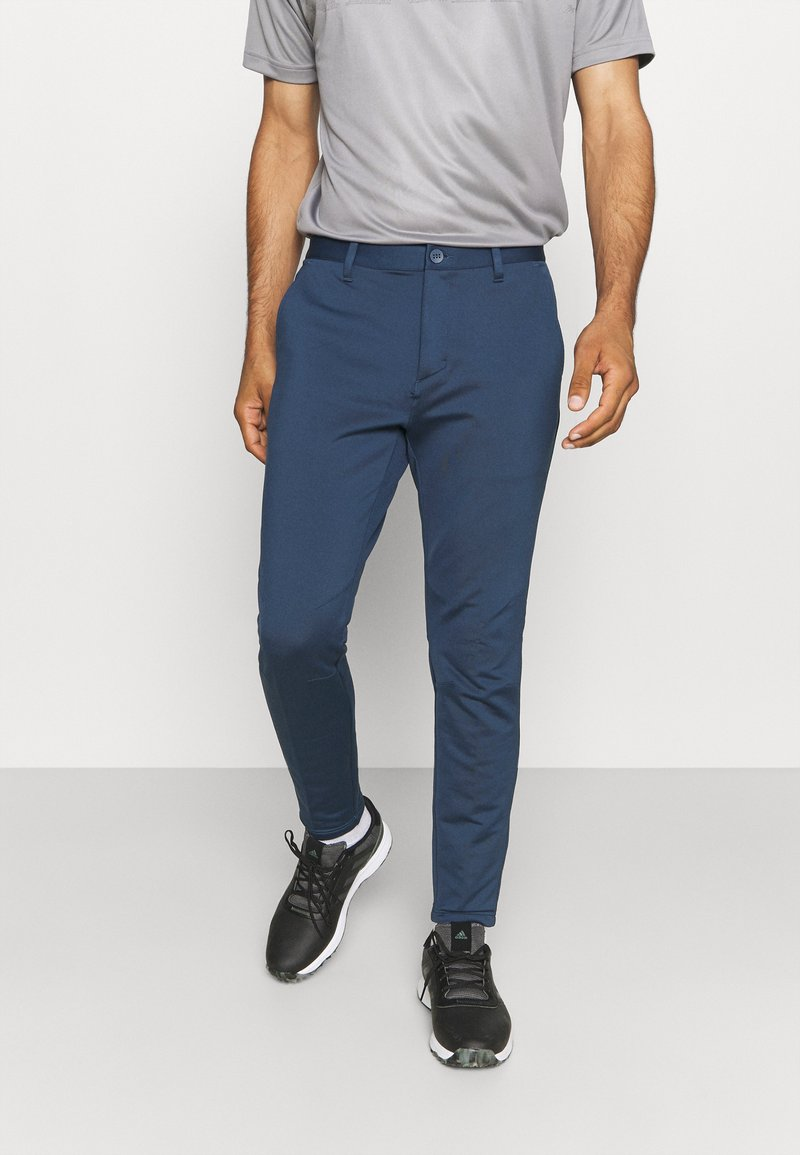 adidas Golf - PRIMEBLUE JOGGER - Pantalones - navy/white