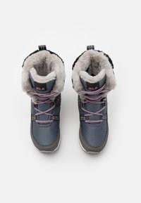 Jack Wolfskin - POLAR TEXAPORE HIGH UNISEX - Winter boots - pebble grey/offwhite - 3