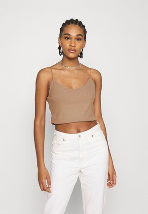 MITZI SINGLET - Top - brown
